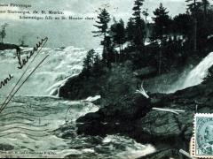 Schawanigan falls on St Maurice river