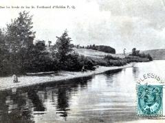 Sur le bords du lac St Ferdinand d'Halifax