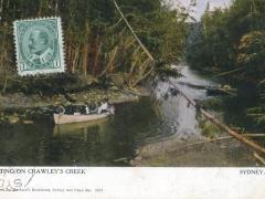 Sydney Boating On Crawley's Creek
