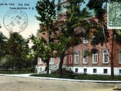Trois Rivieres L'Hotel de Ville City Hall