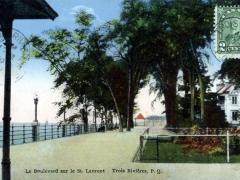 Trois Rivieres Le Boulevard sur le St Laurent