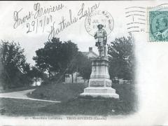 Trois Rivieres Monument Laviolette
