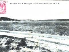 Kilindini Pier and Mtongwe views from Mwakupa