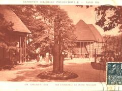 Cameroun Togo Vue d'Ensemble du grand Pavillon
