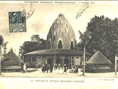 Pavillon de l'Afrique Equatoriale Francaise