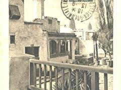 Selection Tunisienne Vue sur la Place Publique le Cafe Maure