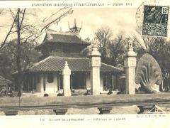 Selection de L'Indochine Pavillon de L'Annam
