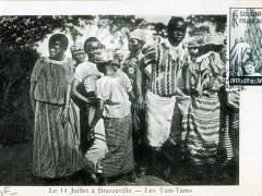 Le 14 Juillet a Brazzaville Les Tam Tams