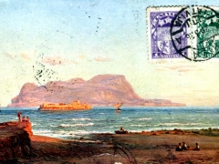 Künstlerkarte Gibraltar
