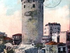 Constantinople La Tour de Galata