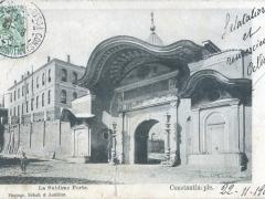 Constantinople La Sublime Porte