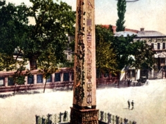 Constantinople L'obelisque de Theodose Stamboul