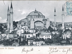 Constantinople Mosquee St Sophie