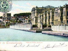Constantinople Palais de Dolma Bachtche