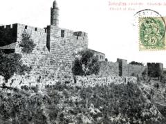 Jerusalem Citadelle de Zion