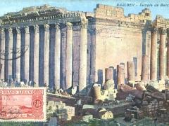 Baalbek Temple de Bacchus