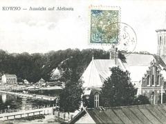 Kowno Aussicht auf Aleksota