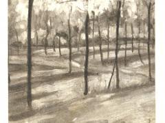 Litauische Kunst A Galdikas Im Garten