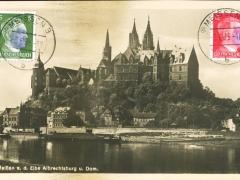Meissen an der Elbe Albrechtsburg und Dom
