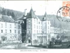 Amsembourg Le chateau