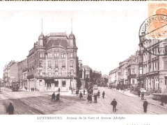 Avenue de la Gare et Avenue Adolphe