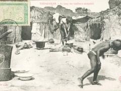 Au camp des tirailleurs senegalais