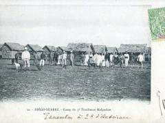 Diego Suarez Camp du 3e Tirailleurs Malgaches