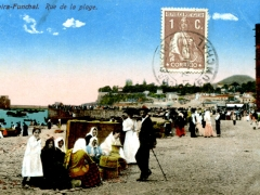Funchal Rue de la plage