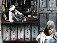 Boutique d'epicier arabe