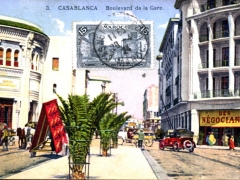 Casablanca Boulevard de la Gare