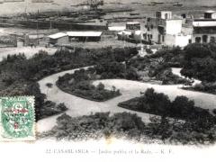 Casablanca Jardin public et la Rade