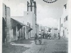 Casablanca Mosquee Ould el Hamra ecornee par le bombardement