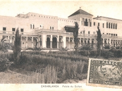 Casablanca Palais du Sultan