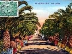 Casablanca Parc Lyautey
