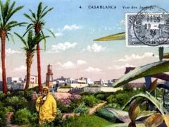 Casablanca Vue des Jardins