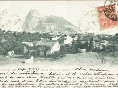 Gibraltar Rock from Pedrera
