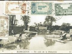 Marrakech Un coin de la Palmeraie
