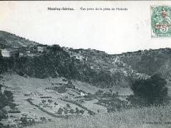 Moulay Idriss Vue prise de la piste de Meknes