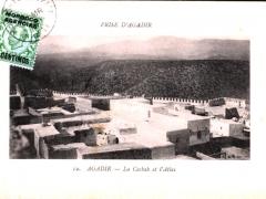 Agadir La Casbah et l'Atlas