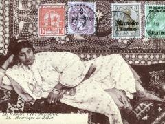 Mauresque de Rabat Meknes 4 Postämter