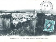 Azemmour Vue de la Ville et embouchure de l'Oued Oum Er Rebia