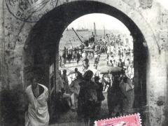 Casablanca Porte de la Marine et vue du Port