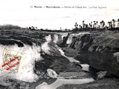 Marrakech Ravins de l'Oued Icil Le Pont Tagriant