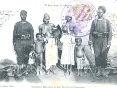 Tirailleurs Senegalais et leur Famille au Campement