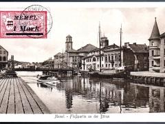 Memel Flusspartie an der Börse