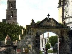 Cuernavaca Entrada a la Catedral