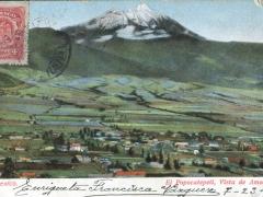 El Pppocatepetl Vista de Amecameca
