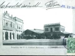 Guadalajara Estacion del F C Central Mexicano
