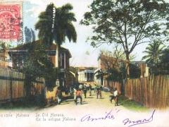 Habana in old Habana