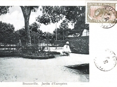 Brazzaville Jardin d'Europeen